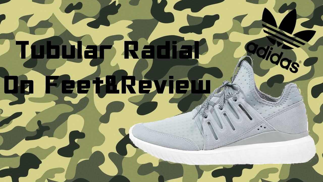 new product 4f811 19f2d Adidas Tubular Radial Review & ON Feet