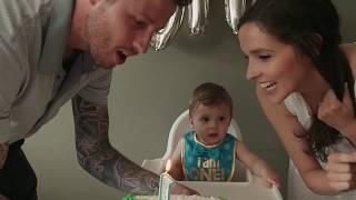 Beckham's 1st Birthday
