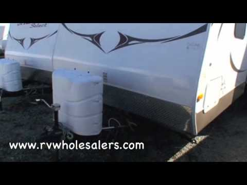2010 Sprinter Select 26BH Travel Trailer Camper From RVWholesalers 532745 - Chestnut