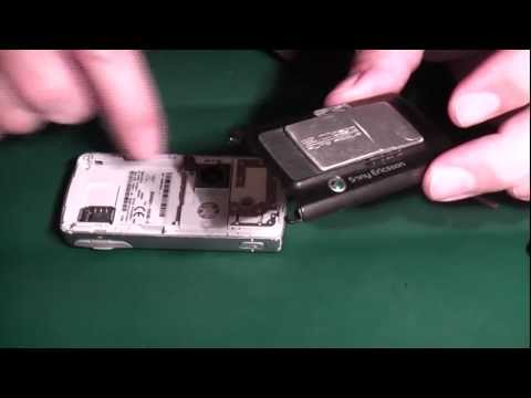 Sony Ericsson K750i Screen Replacement