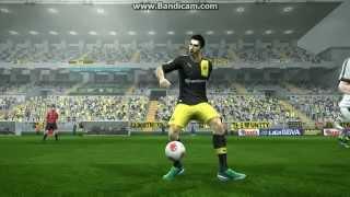 Henrikh Mkhitaryan fantastic goal on Pes 13 by Hovo Avetisyan