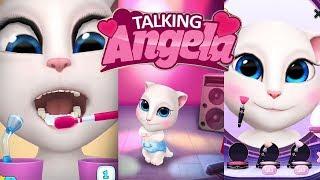 My talking Angela |caring for Angela |dance school |girls games