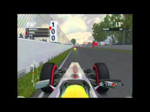 F1 2011 - Montreal Career Race - Part 1