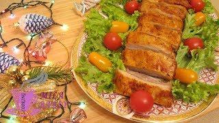 Запеченные свиные ребрышки в пряном маринаде | Новогодний рецепт | Baked pork ribs in spicy marinade