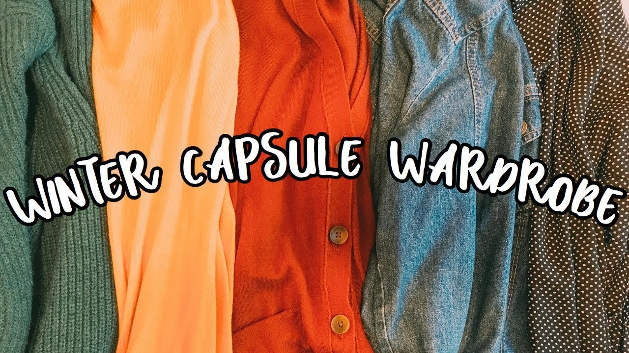 [VIDEO] - WINTER CAPSULE WARDROBE 2019 | TEACHER CAPSULE WARDROBE | WINTER OUTFIT IDEAS 2019 9