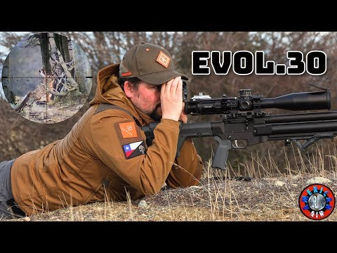 Extreme Rabbit Hunting with .30 EVOL in Patagonia , Activated Subtitles English