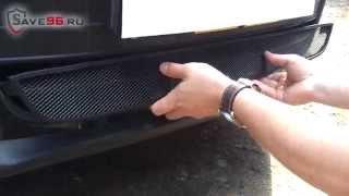 Сетка на решетку радиатора для Volkswagen Tiguan (Фольксваген Тигуан) 2012-2014 г.в. (Sport & Style)(http://www.save96.ru/ – Интернет-магазин защитных сеток радиатора. Сетка для защиты радиатора от камней и насекомых..., 2014-11-09T02:00:41.000Z)