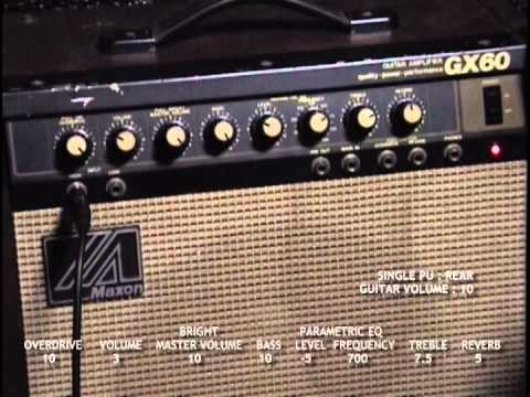 Guitar Amp Maxon Gx60