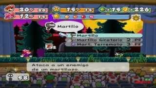 Paper Mario: La puerta milenaria 100% Acto 4 Jefe Rumpel y más (16/34)