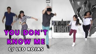Jax Jones - You Don't Know Me ft. RAYE | Coreografía de Leo Rojas || Dance On Fire 👟🔥