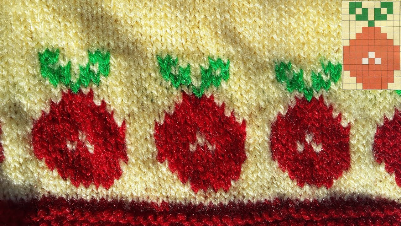 558a481c3 81- Apple Design for Baby Sweater (Hindi) [With Graph] - YouTube