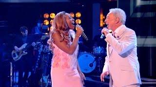 Sir Tom Jones & Sasha Simone perform River Deep Mountain High - The Voice UK 2015 - BBC
