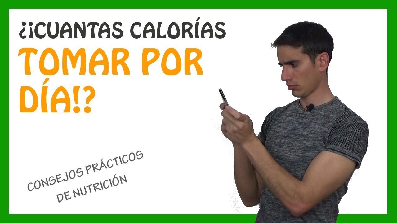 como calcular las calorias que necesito consumir