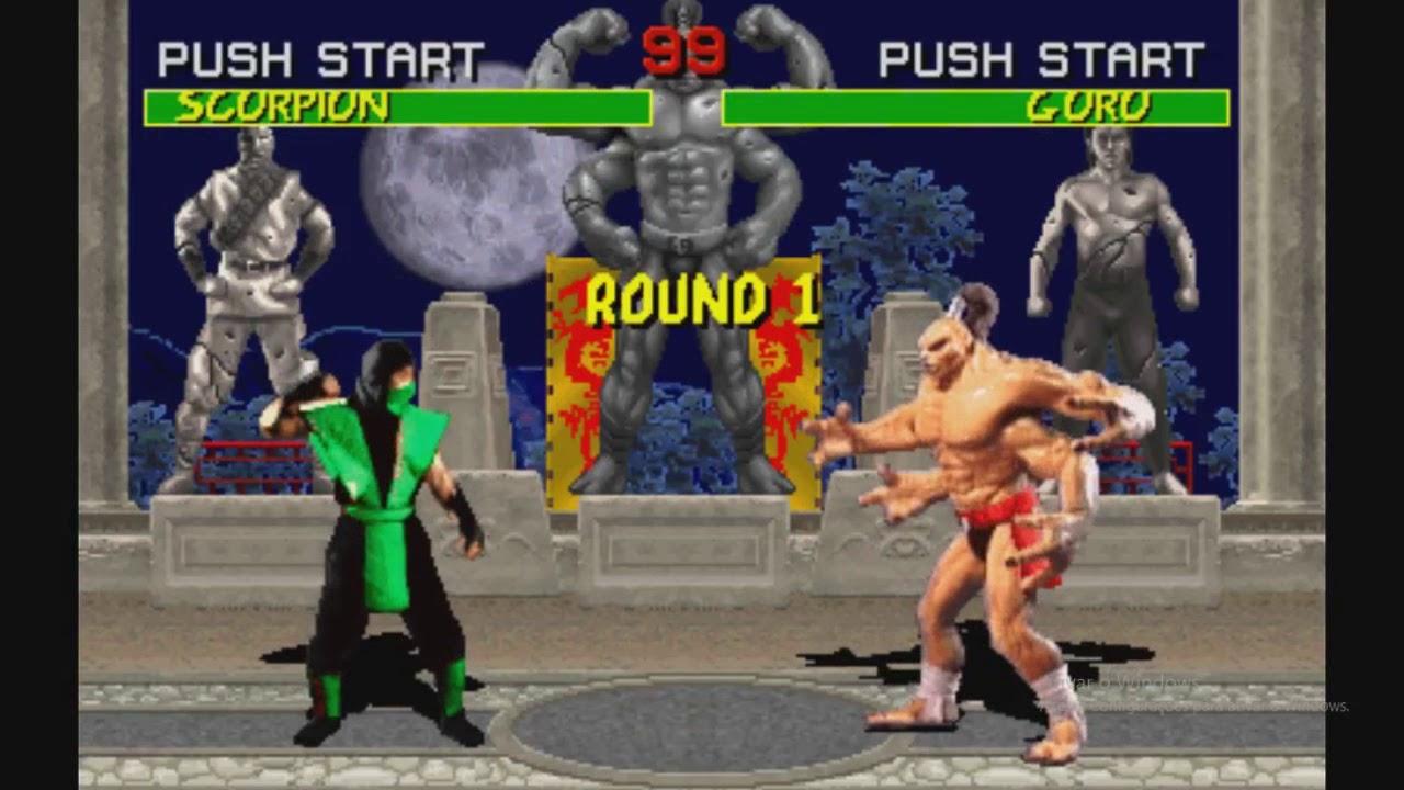 Mortal Kombat 1 (Arcade) - Cheat Code Glitch Collection