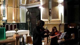 Concierto de Grupos de Cámara Peralta 2011 - Dúo de Violas