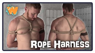 TIESDAY - BONDAGE Rope Harness