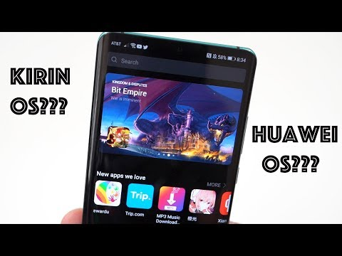 Huawei Announces New Mobile OS: Android Compatibility and App Store!