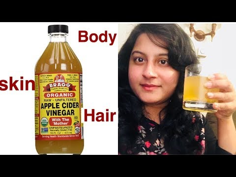 beauty-and-health-benefits-of-apple-cider-vinegar-in-telugu-!!-must-watch-!!