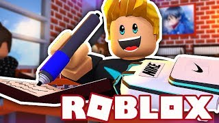 THE FIRST DAY OF THE NEW SCHOOL-ROBLOX SCHOOL