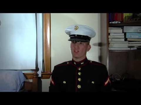 Private First Class Vasiloff of the U.S Marine Corps