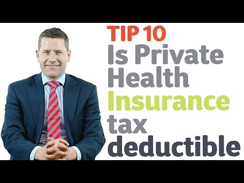 23 Is Private Health Insurance tax deductible? Tip 10