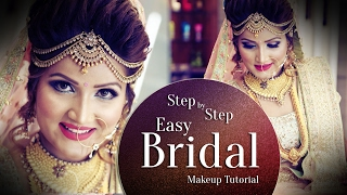 Beautiful Makeup For Indian Bride | Step By Step Easy Bridal Makeup Tutorial | Krushh By Konica