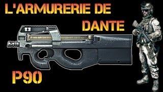 Battlefield 3 - L'armurerie de Dante : P90 ! (Battlefield 3 P90 Gameplay/Commentary/Test)