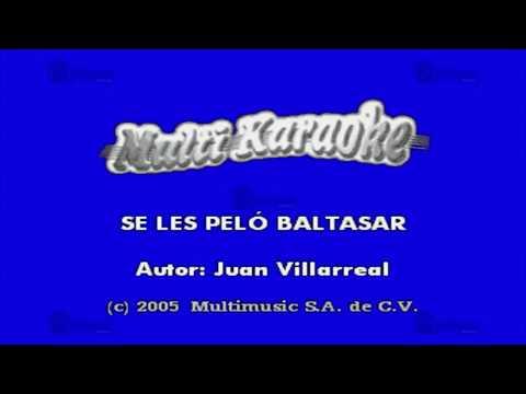 MULTIKARAOKE - Se Les Pelo Baltazar