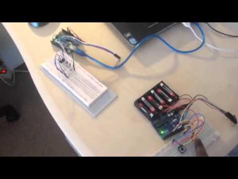 Arduino: Wireless Communication between two Arduino boards using NRF24L01