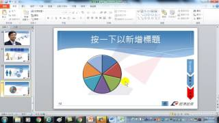 71.Excel的圓形圖在PowerPoint中變成可分割的立體圓形圖(PowerPoint 簡報製作技巧)