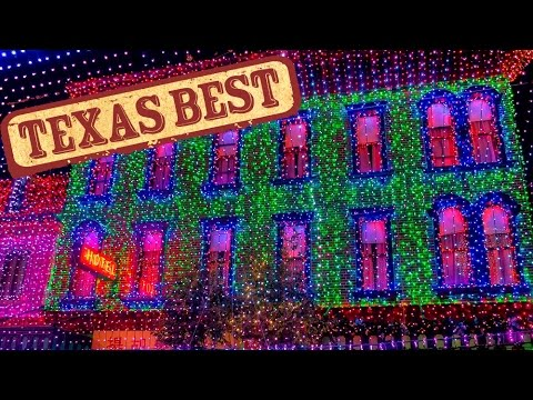 texas best christmas lights texas country reporter - Best Christmas Lights In Texas