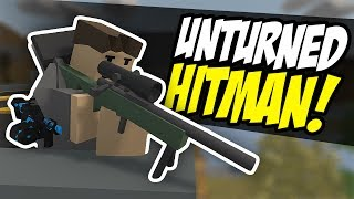 One of Fudgy's most viewed videos: THE HITMAN - Unturned Hired Assassin   Target Acquired!
