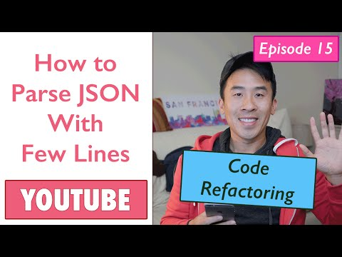 Swift: YouTube - How To Parse JSON With Few Lines (Ep 15)