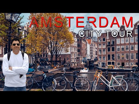 Exploring Amsterdam By Walk | The Best City in the World | Europe Trip EP-14