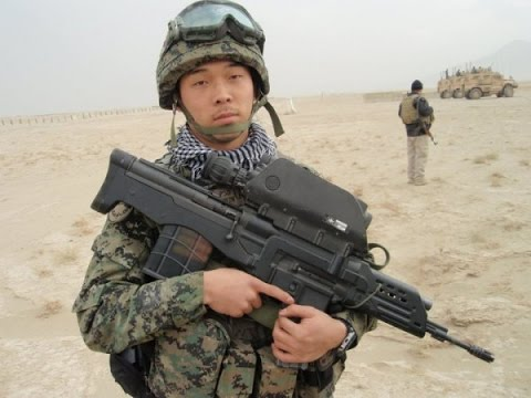 Republic of Korea ROK Army supporting Afghanistan