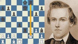 LECCIÓN AL NO DESARROLLO Meek vs Morphy USA 1855