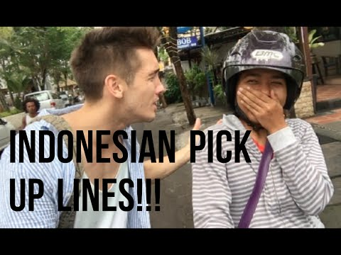 Indonesian Pick Up Lines!!