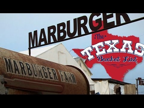 The Texas Bucket List - Marburger Farm