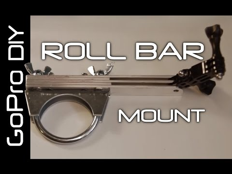 How to make a GoPro Roll Bar/Handlebar Camera Mount  - GoPro DIY #2