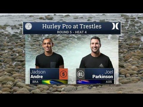 Hurley Pro at Trestles: Round Five, Heat 4