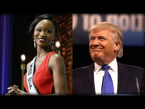 MISS UNIVERSE HAS A MESSAGE ABOUT TRUMP THAT WILL MAKE LIBERALS SCREAM!!