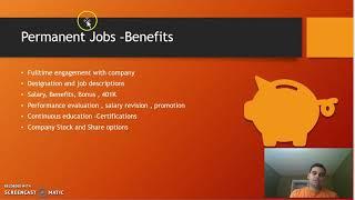 Contractor VS Permanent Jobs