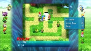 Final Fantasy Crystal Defenders [PS3] W1 Bisga Greenlands PERFECT