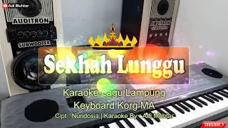 Sekhah Lunggu - Cipt. Nuridosia - Karaoke Lirik Lagu Lampung - Musik Korg Microarranger