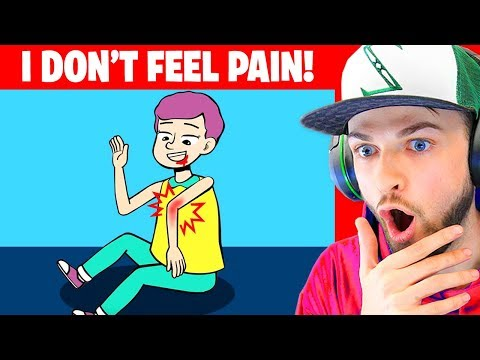 I DON'T Feel PAIN And My Life Is SUPER Dangerous! (True Story Animation)