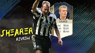 FIFA 18 - PRIME ICON SHEARER (91) PLAYER REVIEW