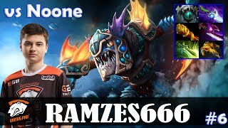 Ramzes - Slark Safelane | vs Noone (Arc Warden) | Dota 2 Pro MMR Gameplay #6