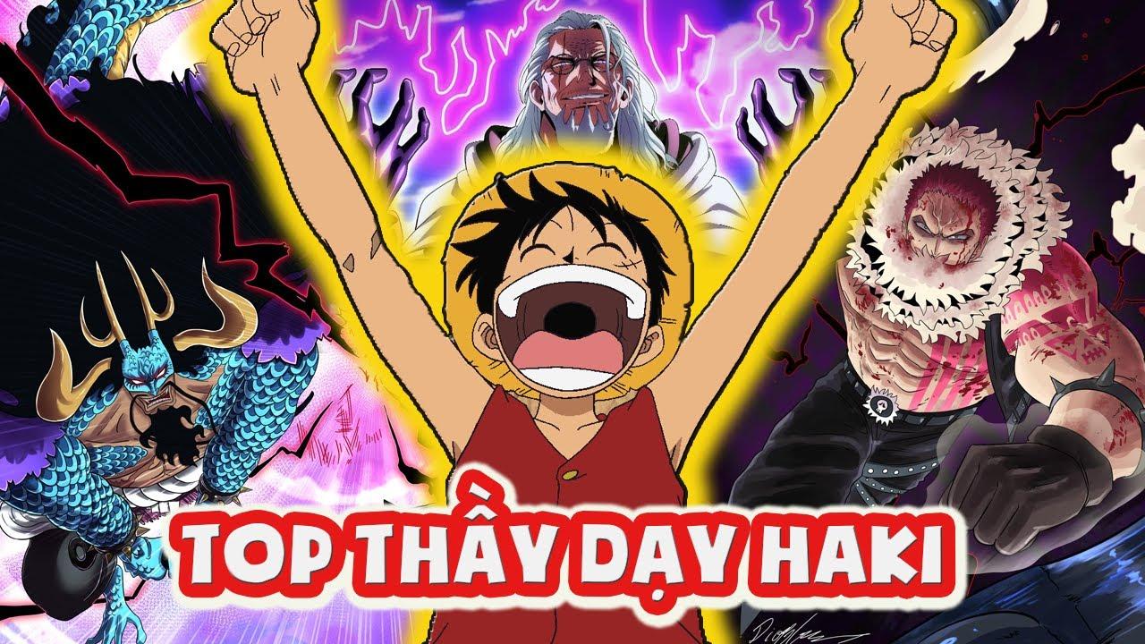 LUFFY Mũ Rơm & 5 Ông Thầy Dạy Sức Mạnh Tuyệt Vời Nhất | One Piece 1028+