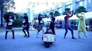 二日間かけて行われた長崎大学学園祭にてゲリラダンスパフォーマンス(フラッシュモブ)を複数回にわたり行いました。その演目のひとつとしてハ...