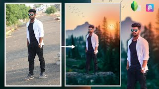 PicsArt manipulation editing in DP Photo tech
